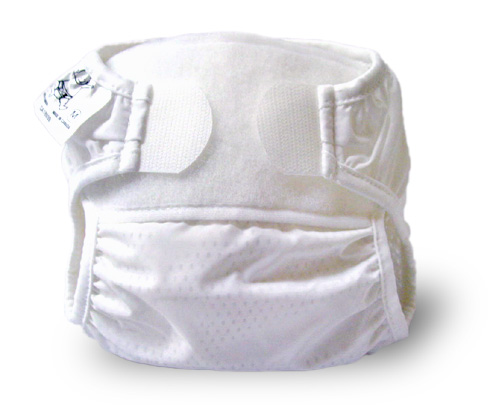 Image: Bummi Original Nylon Diaper Cover | interior mesh lining increases the flow of air and wicks moisture away | Silky and feather-light nylon