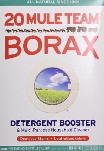Image: 20 Mule Team Borax Natural Laundry Booster | Helps make your china sparkle and eliminates kitchen odors