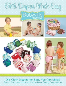Image: Babyville Boutique Cloth Diapers Made Easy Book, by Dritz Babyville Boutique | Guides novice sewers through each step of diaper making