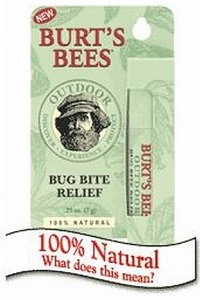 Image: Burts Bees Bug Bite Relief - Temporarily relieves pain and itching associated with bites, stings, minor skin irritations and rashes
