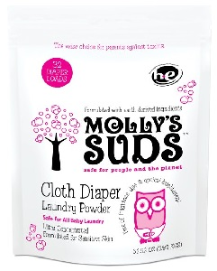 Image: Molly's Suds Cloth Diaper Laundry Powder 32 loads- Perfect for Baby Laundry, All Natural, Free of Parabens and Harsh Chemicals | No harsh chemicals, no fillers, no essential oils, no enzymes, no fragrance