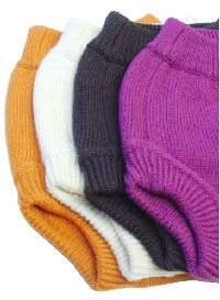Image: Sustainablebabyish Knit Wool Diaper Cover - High rise to cover one-size, prefolds, fitteds, flats and snapless diapers