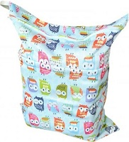 Image: Printing Baby Cloth Diaper Laundry Wet and Dry Bags