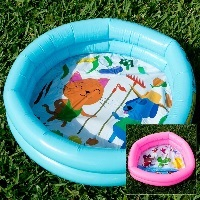 Image: Mini Inflatable Baby Duck Pond Pool