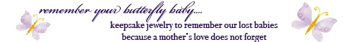Image: Miscarriage and Infant Loss Memorial Jewelry