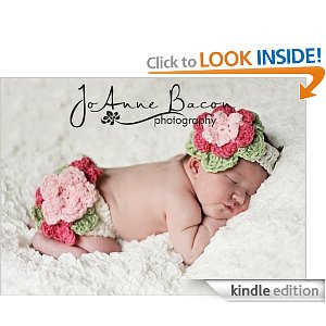 Fancy Flower Diaper cover and headband set crochet pattern