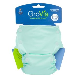 GroVia Organic Cloth AIO Diaper