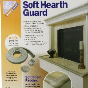 Image: Mommys Helper Soft Hearth Guard - Soft edge and corner guards for your hearth
