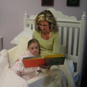 Image: Magic Bumpers Portable Child Safety Bed Guard Rail - no entrapment space between the bed and bumper